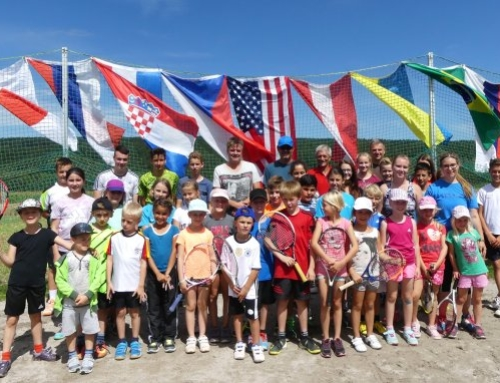 Jugend-Tenniscamp beim TC Bildechingen